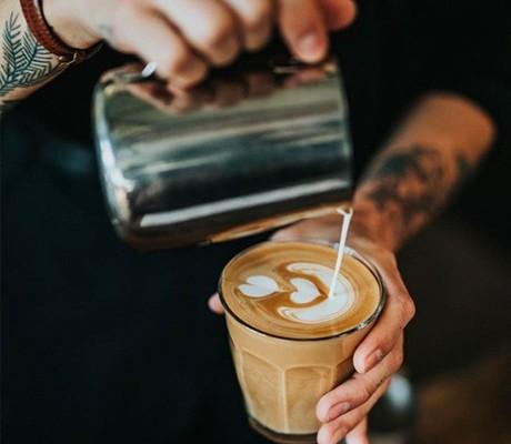 拍摄一幅漂亮的咖啡照片