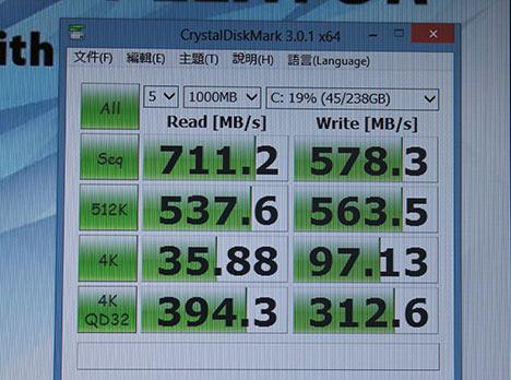浦科特 M6e M.2 2280 256GB SSD速测