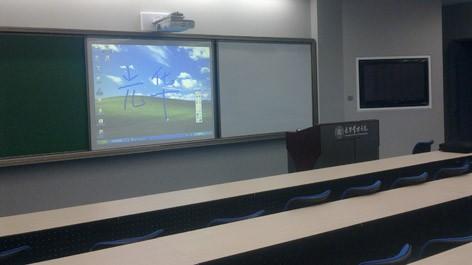 消除阴影 爱普生CU600Wi互动教学方案
