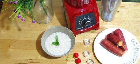 低热易消化 红薯米糊