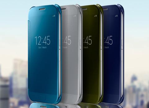 三星(SAMSUNG) S6手机 镜面智能保护套 ¥388元