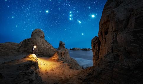 暗夜战神 佳能5D4相机记录壮美的中国星空