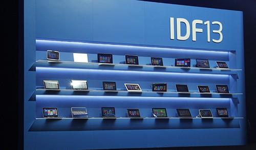 IDF13:英特尔专题演讲推多款智能终端