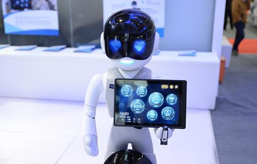 多种人工智能技术 GQY银行服务机器人