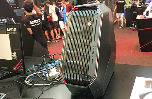外星人配锐龙!AMD 16核CPU首发简测