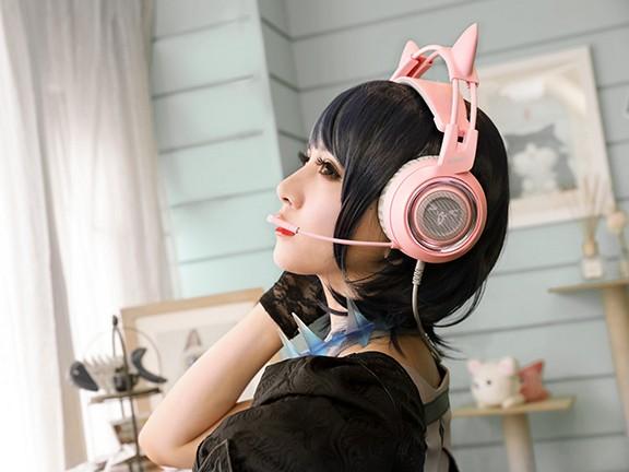 挑战高颜值 硕美科G951pink耳机评测