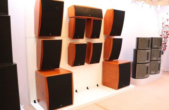 黑科技新品带激光的音箱惠威科技LR系列