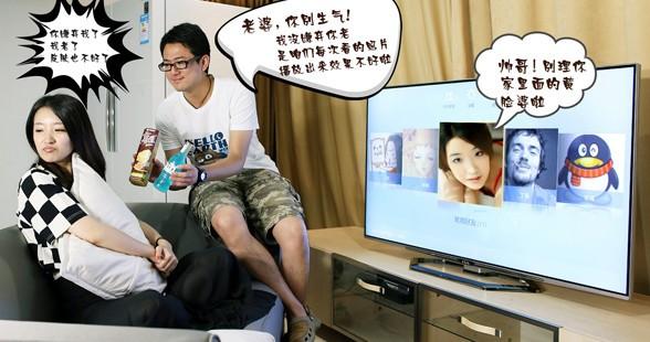 美女帅哥真人演绎 4K电视的爱与哀愁