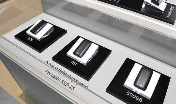 三星于IFA发布移动SSD新品X5