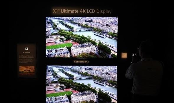 索尼新OLED电视现场体验