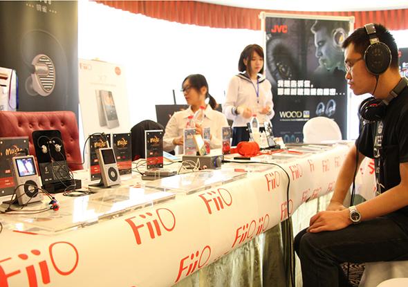 Fiio携全系耳机播放器亮相本届试听会