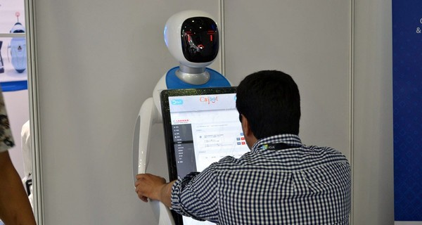 CESA探馆 智能机器人占据展会的半壁江山