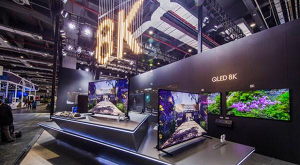 三星QLED 8K电视中国首展 画质惊人