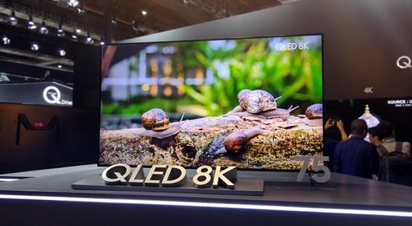 三星QLED 8K电视中国首展 4种尺寸画质惊人
