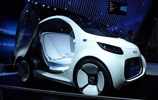 新能源唱主角 2018CES发布新车型盘点