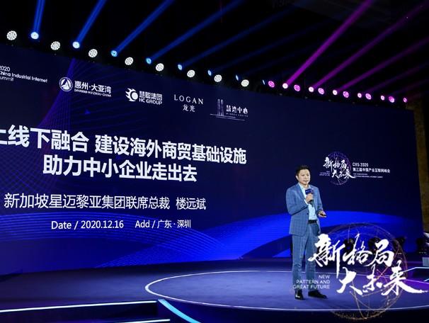"""新加坡星迈黎亚集团联席总裁楼远斌:提供""""保姆式""""服务 助推中国企业走出去"""