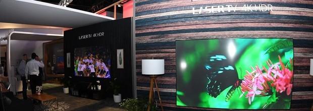 海信8K电视+三色激光电视发布