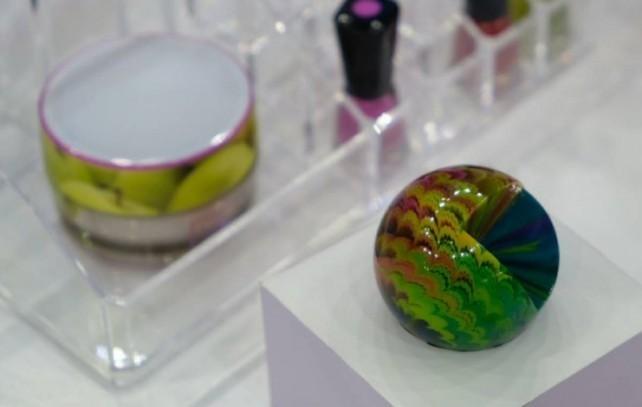TCT展Stratasys展示彩色透明3D打印