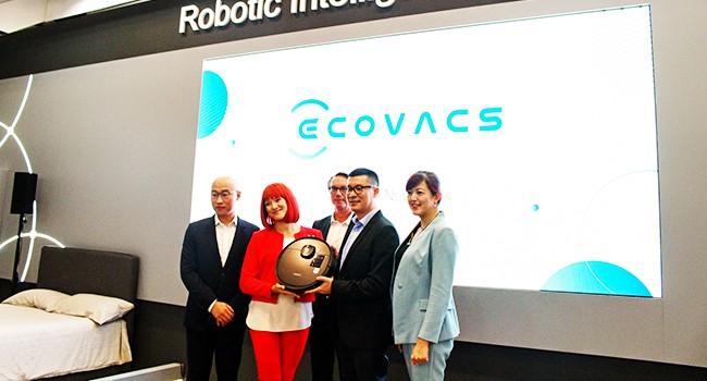 科沃斯全新品牌VI在IFA首发 焕新起航,智创未来