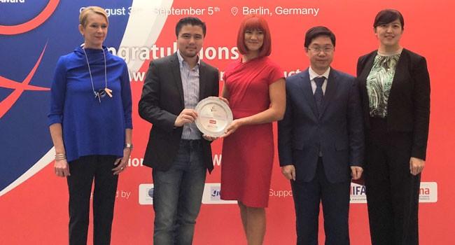 TUYA荣获智能互联平台创新奖