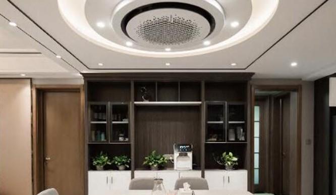 两室一厅 一样可以安装三星中央空调
