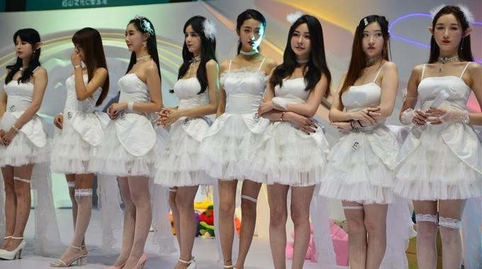 ChinaJoy2020最火热的showgirl
