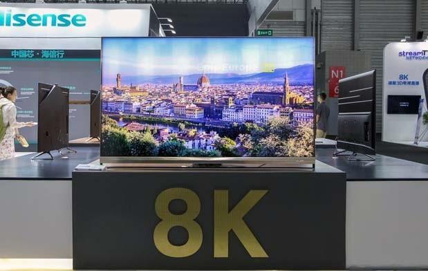 海信8K ULED+OLED电视在CESA霸屏