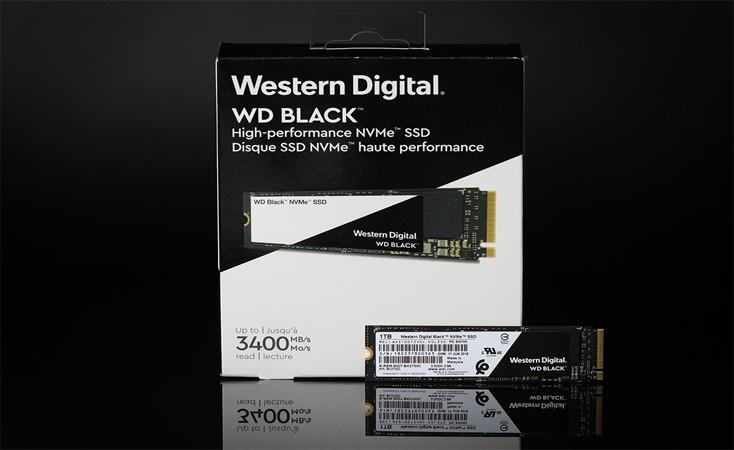 西部数据 SSD评测