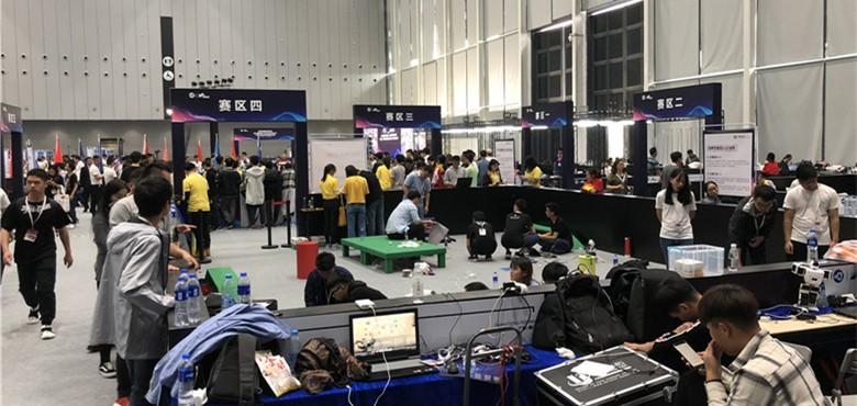 2018互联网+博览会:机器人大赛现场直击