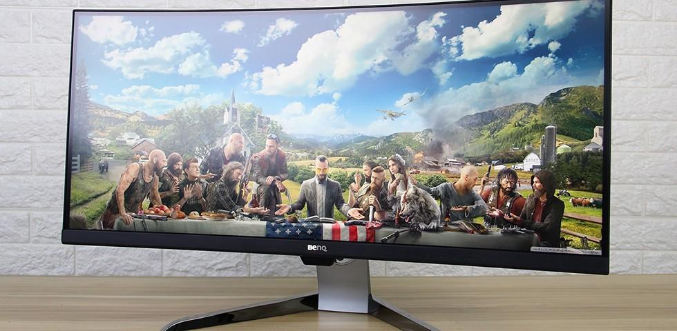 35吋4K超宽曲面屏 明基EX3501R显示器评测